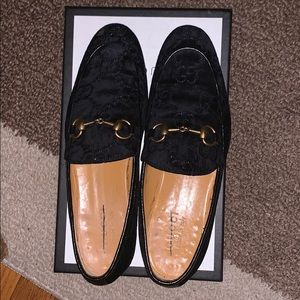 Gucci Velvet Loafers